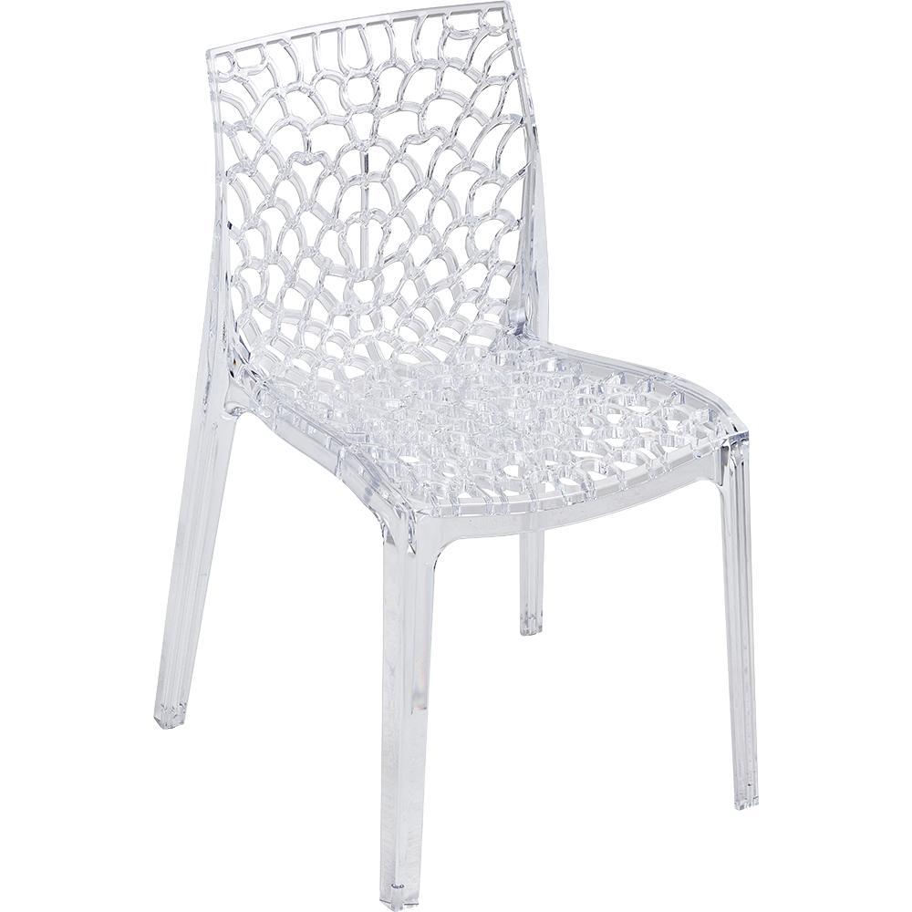 Chaise Design Transparente CHRIS Buroccasion